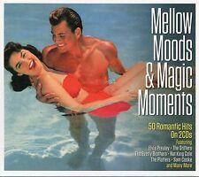 MELLOW MOODS & MAGIC MOMENTS - 2 CD BOX SET - 50 ROMANTIC HITS