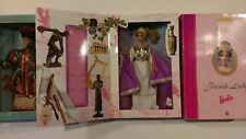 Barbie Grecian Goddess  French Lady Chinese  Empress Collector Edition 3 set