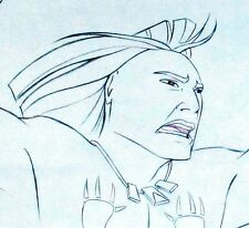 "ORIGINAL DISNEY POCAHANTAS ""KOCOUM""  ANIMATION DRAWING FROM ANIMATOR'S ESTATE"