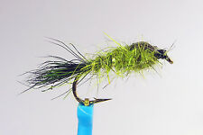 1 x Mouche Nymphe Oreille LIEVRE OLIVE H10 & 20 nymph fly truite trout hare