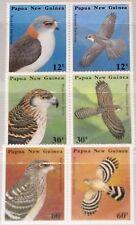 PAPUA NEUGUINEA NEW GUINEA 1985 497-02 620-25 Raubvögel Birds of Prey Vögel MNH