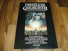 Michael Ende -- UNENDLICHE GESCHICHTE  II // Suche na. Phantasien Hardcover 1990