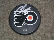 Chris Gratton Philadelphia Flyers Autographed Puck  COA