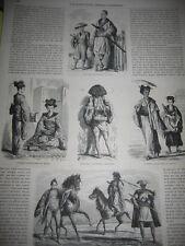 Gravure 1862 - Au Japon A l'Amoor et au Kamtschatka