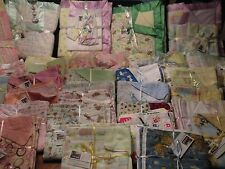 """HANDMADE - SWADDLING/RECEIVING STYLE -BABY BLANKET LARGE SIZE 36"""" X 36"""""""