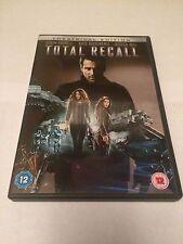 Total Recall (DVD, 2012) colin farrell, jessica biel, region 2 uk dvd