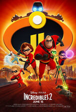 INCREDIBLES 2 MOVIE POSTER 2 Sided ORIGINAL FINAL 27x40 SAMUEL L. JACKSON