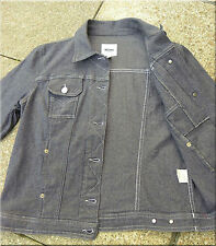 Moschino - Designer Jacke / Jeansjacke Gr. S / M  -  Oldschool Vintage - cm Maße