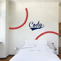 Custom Name Basketball Wall Decal Kid/'s Room Sports Decal Basketball Art s91