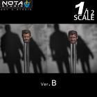 Nota Studio 1/12 Wolverine Logan Head Sculpt 2pcs/Set Head Fit 6'' Figure Body