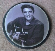 More details for elvis presley set of 6 coasters, printed on slate in presentation matching box