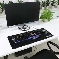 Large Plain Black Extended Rubber Speed Gaming Mouse Pad Mat 700*300*3mm Hot