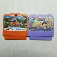 VTech V-Smile Little Einstein Elements & Alphabet Park Adventure Video Game Cart