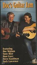 Doc's Guitar Jam Vhs Video New 60Min Rounder Music Instruction Doc Watson