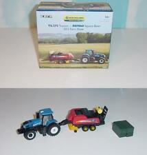 FREE 1/64 New Holl 2012 Farm Show Set W/Purchase! See Offer Details In Auction!