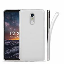 For LG Stylo 4 / Q Stylus Clear Flex Gel TPU Transparent Slim Frosted Cover Case