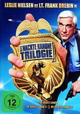 Die nackte Kanone - Trilogie (Teil 1+2+3) # 3-DVD-BOX-NEU