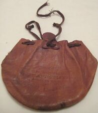 Old Rare 1912 Atlantic Fleet Officers' Tobacco Pouch - Hotel Astor Smoker Event