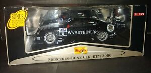 Maisto GT Racing 1/18 Scale Mercedes-Benz CLX DTM 2000 Black