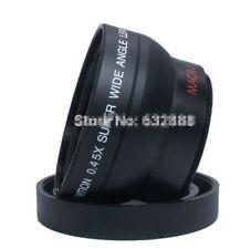 Durable 55mm 0.45X Wide Angle Macro Conversion Lens For Canon Nikon Sony Camera