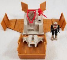 VINTAGE M.A.S.K Laser Command Crate-Jet, HORNET w/FIGURE, Kenner Parker 1987
