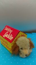 Vintage 1960's Laddie The Barking Dog & Dog House Battery Operated HTF E5