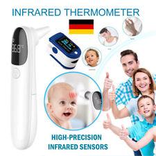 Infrarot Stirnthermometer Kontaktlos Fieberthermometer Stirn Ohr Oberflächen DE