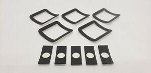 Lund Fiberglass Moon Sun Cab Visor Lens Gaskets Light Gasket Seal Set