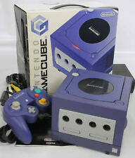 Game Cube Violet Console System DOL-001 JP For Japan Game CD FREE SHIP 11120488