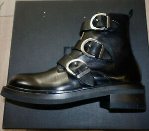 Frye Women Boots (Exclusive/Rare) Alice Triple Buckle. Size:8.5. NEW. ITALY