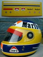 DECALS KIT 1/12 HELMET CASCO MICHELE ALBORETO FERRARI F1