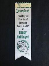 Disney Cast Member Only Disneyland Operation Desert Shield Tribute Badge Ribbon