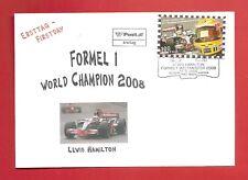 FDC Formel 1 World Champion 2008 Lewis Hamilton ETSSt 1140 Wien 17.03.2009