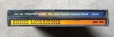 "CD AUDIO INT/ FAR WEST & WESTERN ""COUNTRY MUSIC & ENNIO MORRICONNE 2 CD-BOX"