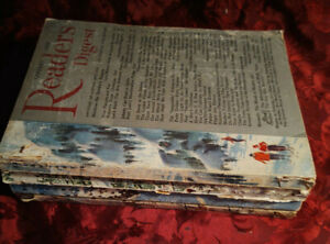 Readers Digest Reading Copy Lot 1958 issues