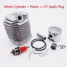44mm Cylinder Piston Kit Spark Plug For 49cc 2 Stroke Mini Quad ATV Pocket Bike