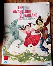 The Wizard Of Oz 1968 Piano/Vocal Edition Music Book From Columbia Pictures Pub.