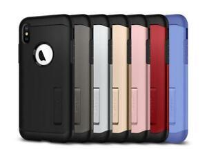 iPhone XS Max Case- Spigen [Slim Armor - Kickstand]