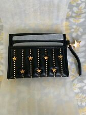 5a96ee9099d NWT Tory Burch Star Stud Slim ID Card Case Wallet 51184 in Black  138