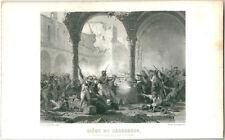 1845 SIEGE DE SARAGOSSE Thiers Independencia Española Napoleón Sitios Zaragoza