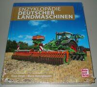 Bildband Enzyklopädie Deutscher Landmaschinen Bilder Fotos Daten Buch Neu!
