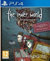 The Inner World: The Last Windmonk (PS4) BRAND NEW SEALED PLAYSTATION 4