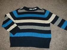 The Children's Place Toddler Boys Navy Blue Striped Sweater Size 4 4T NWT NEW