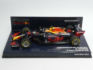 Minichamps 1:43 Max Verstappen Red Bull RB16 Styrian GP F1 2020 410200233 768 pc