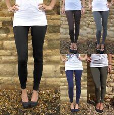 EXTRA LONG Tall Leggings HIGH WAIST Viscose SIZE UK 8 10 12 14 16 18 20 22 24 26