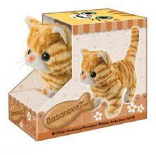 """Orange Tabby Cat Kitten Moves Meows for 18"""" American Girl Doll Widest Selection!"""
