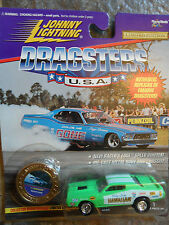 Lot of 10 Johnny Lightning Dragsters Series With Serial numbers