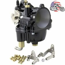 New Black S&S Super E Shorty Carb Carburetor Harley Big Twin Sportster Chopper