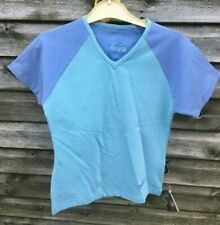 Brand New TOGGI Balmoral Short Sleeve T-SHIRT Top ICE BLUE / LAVENDER UK 8