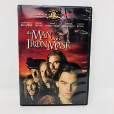 The Man in the Iron Mask (DVD) Free Shipping